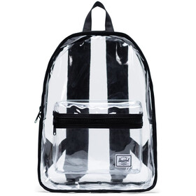 Herschel Classic Mid-Volume Backpack black/clear